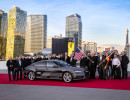 Autonomes Fahren: Audi A7 Piloted Driving Concept bei der CES nach der Fahrt aus dem Silicon Valley nach Las Vegas. Foto: Auto-Medienportal.Net
