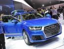 Audi Q7 Vorstellung auf der Detroiter Motorshow 2015