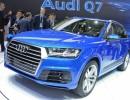 Audi Q7 in Blau Metallic