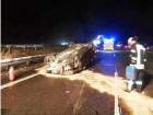 E-Call brachte die Rettungskräfte schnell an den Unfallort. Foto: Auto-Medienportal.Net /Feuerwehr Königswinter