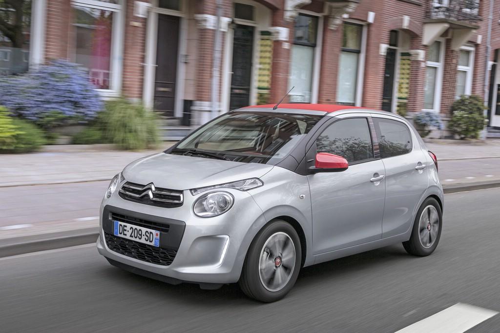 Kurz und wendig: Der Citroën C1 empfiehlt sich als Stadtflitzer.