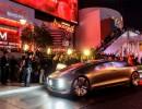 Autonomes Fahren: Mercedes-Benz F 015 autonom unterwegs in Las Vegas. Foto: Auto-Medienportal.Net