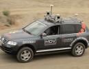 Autonomes Fahren: Volkswagen Touareg ohne Fahrer durchs Gelände. Foto:Auto-Medienportal.Net