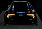 Audi-Designmodell für OLED-Leuchten, Heckansicht
