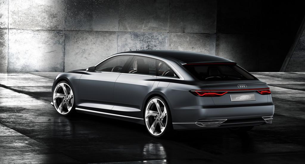Audi Prologue Avant Heckansicht