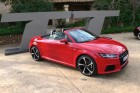 Audi TT Roadster 2015 in Rot