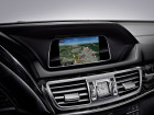 Infotainmentsystem in der Mercedes-Benz E-Klasse.
