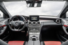 Mercedes-AMG C 63 Innenausstattung in rot schwarz