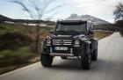 Mercedes-Benz G500 4x4 auf Asphalt