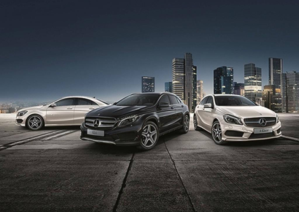 Street-Style-Modelle von Mercedes-Benz.