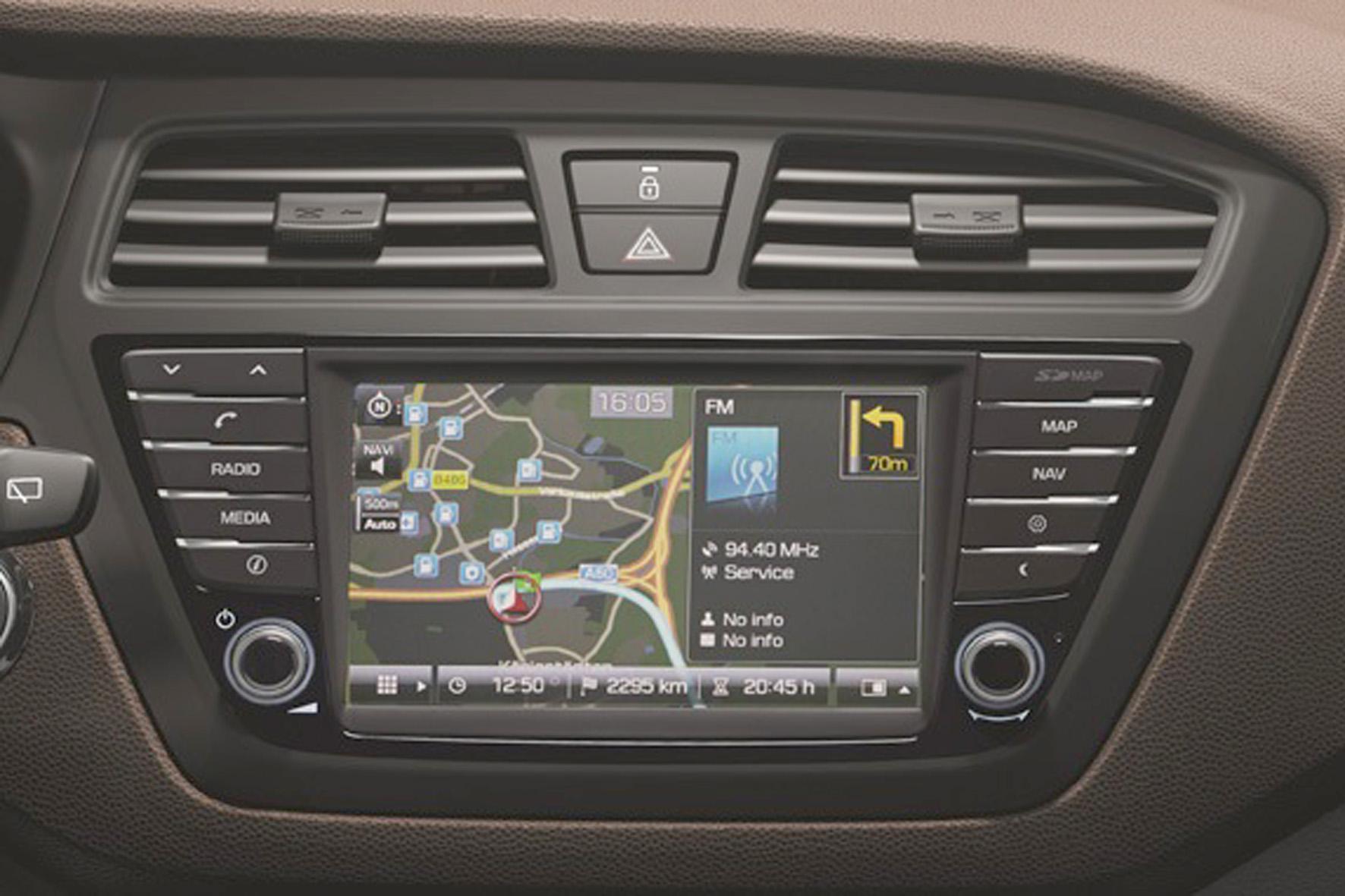 Navi-System Hyundai i20