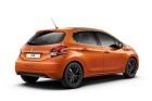 Peugeot 208 in Orange