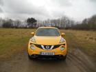 Facelift Nissan Juke 2015, Vorderansicht
