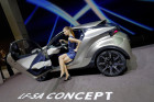Lexus LF-SA Concept, Fahrerplatz