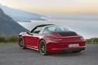 Porsche 911 Targa 4 GTS Heckansicht (Rot)