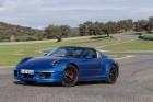 Porsche 911 Targa 4 GTS auf Rennstrecke