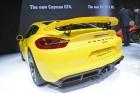 Porsche Cayman GT4, Heck