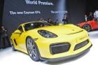 Porsche Cayman GT4 auf Autosalon Genf 2015