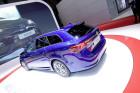 Der neue Toyota Avensis Kombi Facelift 2015 in Blau Metallic