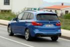 BMW 2er Gran Tourer Blau Heckansicht