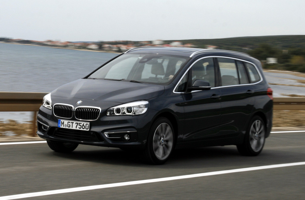 2015 bmw 2er gran tourer neuvorstellung des kompaktvans bilder. Black Bedroom Furniture Sets. Home Design Ideas