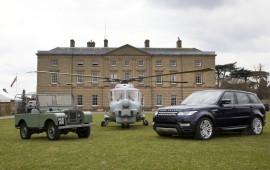 HUE 166 und Range Rover Sport