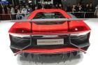 Lamborghini Aventador Superveloce, Heckpartie