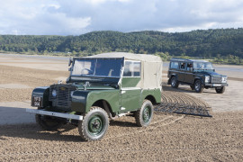 Land Rover Defender Geländewagen