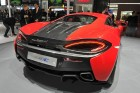 McLaren 540 C, Heckansicht