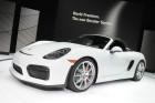 Porsche Boxster Spyder auf New Yorker Autosalon 2015