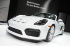 Porsche Boxster Spyder in weiß