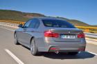 BMW 3er Facelift 2015, Fahraufnahme