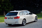 BMW 3er Touring Facelift 2015 in weiß