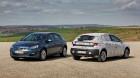 Bildvergleich Opel Astra K und Astra J