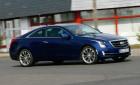 Cadillac ATS Coupé AWD, Fahraufnahme