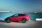 Honda CR-V, rot, Seitenansicht