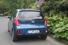 Kia Picanto Facelift 2015 Blau Heck