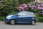 Kia Picanto Facelift 2015 Seitenansicht Blau Metallic