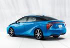 Mit Wasserstoff betriebene Toyota Mirai