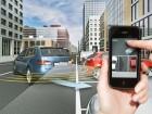 Parken mit Smartphone