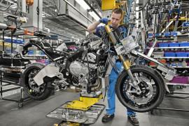 Produktion der BMW S 1000 XR