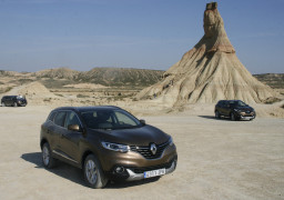 Renault Kadjar Standaufnahme