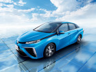 Toyota Mirai fährt mich Wasserstoff