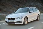 weißer BMW 3er Touring Facelift 2015