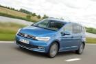 2015 Volkswagen Touran Fahraufnahme