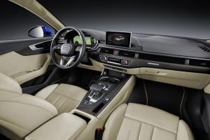 Audi A4 B9 2015, Armaturenbrett
