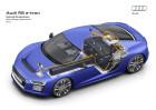 Audi R8 E-Tron Hochvolt Komponenten