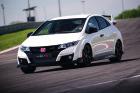 Honda Civic Type R Fahraufnahme