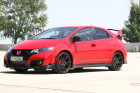 Honda Civic Type R in rot