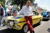 Rennfahrer und Opel-Markenbotschafter Joachim Winkelhock war mit einem 1971er Kadett B Rallye aus dem Opel Klassik-Fundus angereist.